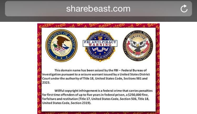 sharebeast fbi